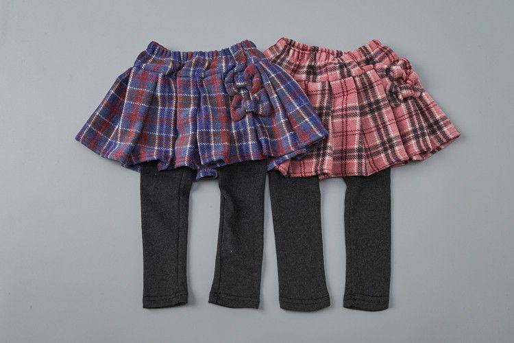 JAM - BRAND - Korean Children Fashion - #Kfashion4kids - Ribbon Pleats Skirt Leggings