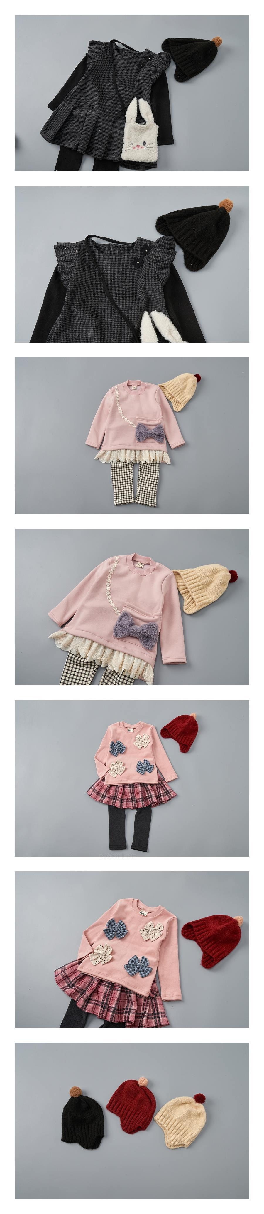 JAM - Korean Children Fashion - #Kfashion4kids - Pompom Hat