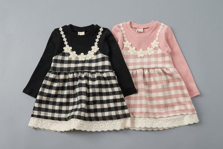 JAM - BRAND - Korean Children Fashion - #Kfashion4kids - Check Vest One-piece