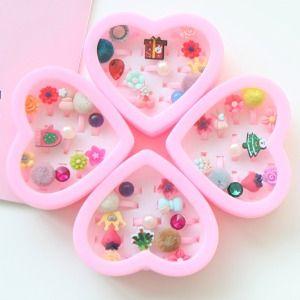 JIREH BOW - BRAND - Korean Children Fashion - #Kfashion4kids - Christmas Ring Set [set of 12]