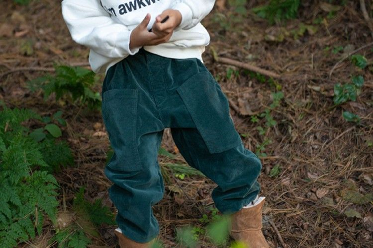 KURENARD - BRAND - Korean Children Fashion - #Kfashion4kids - D Ring Pants