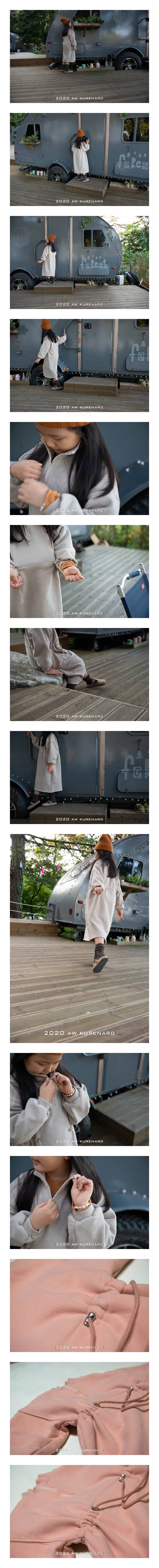 KURENARD - Korean Children Fashion - #Kfashion4kids - Anorak One-piece