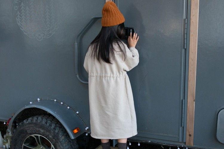 KURENARD - BRAND - Korean Children Fashion - #Kfashion4kids - Anorak One-piece