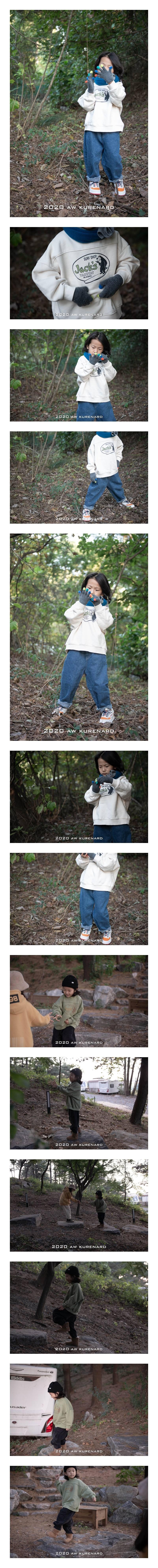 KURENARD - Korean Children Fashion - #Kfashion4kids - Zack Half Turtleneck Sweatshirt