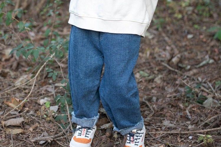 KURENARD - BRAND - Korean Children Fashion - #Kfashion4kids - Paper Bag Denim Pants