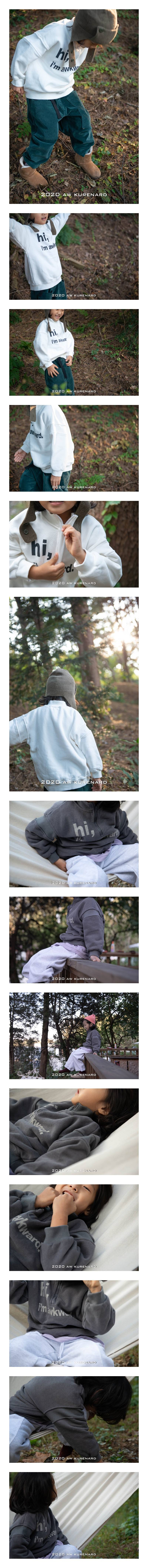 KURENARD - Korean Children Fashion - #Kfashion4kids - Hi Half Zip-up Pullover