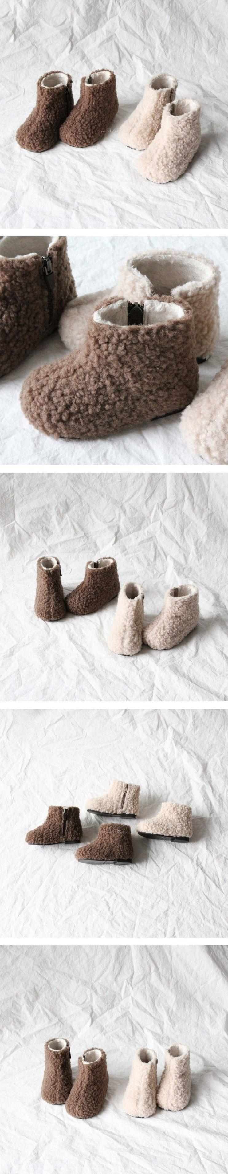LA STELLA - Korean Children Fashion - #Kfashion4kids - Cloud Bread Boots