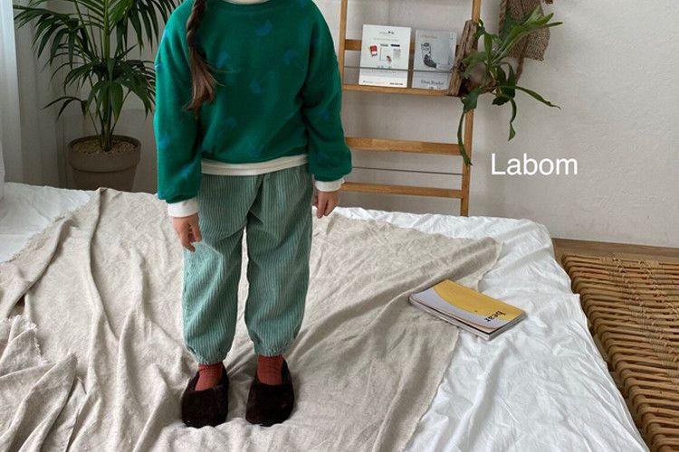 LABOM - BRAND - Korean Children Fashion - #Kfashion4kids - Peanuts Corduroy Pants