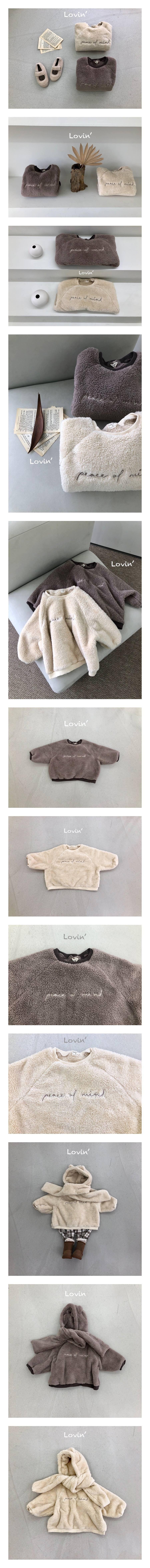 LOVIN - Korean Children Fashion - #Kfashion4kids - Moco Embroidery Dumble Pullover