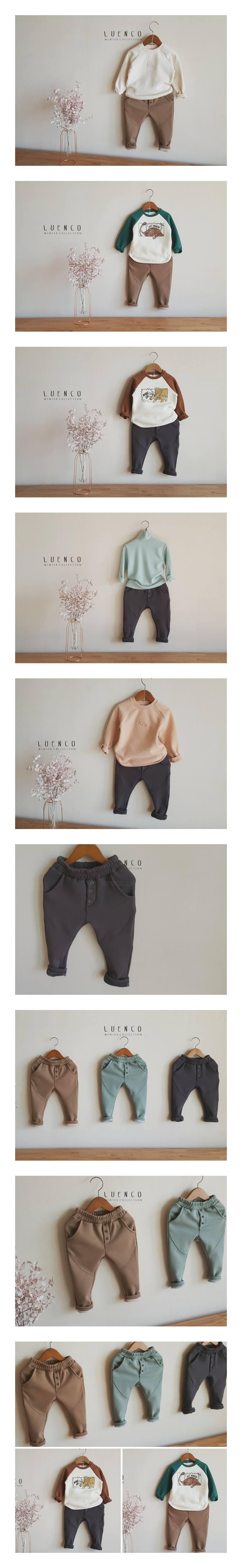 LUENCO - Korean Children Fashion - #Kfashion4kids - Toto Baggy Pants