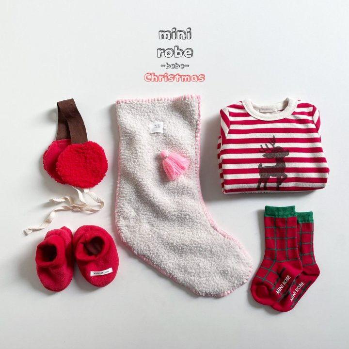 MINI ROBE - Korean Children Fashion - #Kfashion4kids - Gift Santa Socks - 9