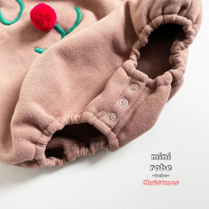 MINI ROBE - Korean Children Fashion - #Kfashion4kids - Rudolph Bodysuit - 11