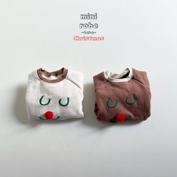 MINI ROBE - Korean Children Fashion - #Kfashion4kids - Rudolph Bodysuit - 12