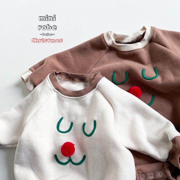 MINI ROBE - Korean Children Fashion - #Kfashion4kids - Rudolph Bodysuit - 2