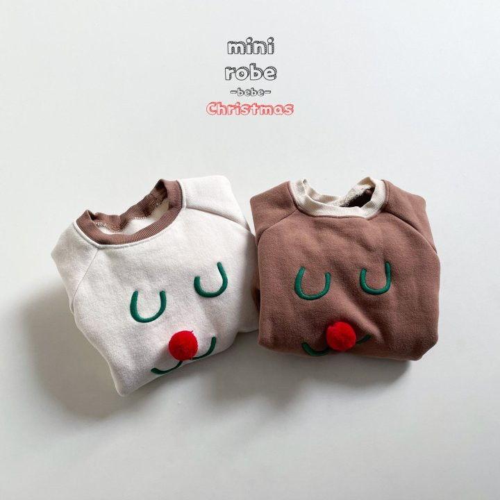 MINI ROBE - Korean Children Fashion - #Kfashion4kids - Rudolph Bodysuit - 6