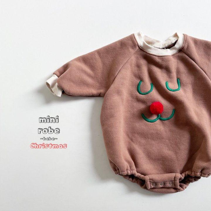 MINI ROBE - Korean Children Fashion - #Kfashion4kids - Rudolph Bodysuit - 7