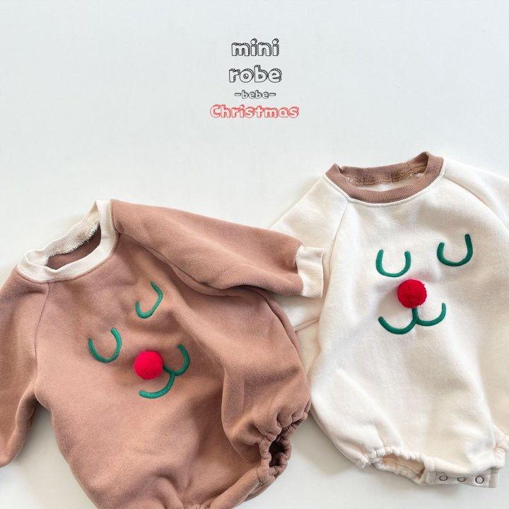 MINI ROBE - Korean Children Fashion - #Kfashion4kids - Rudolph Bodysuit - 8
