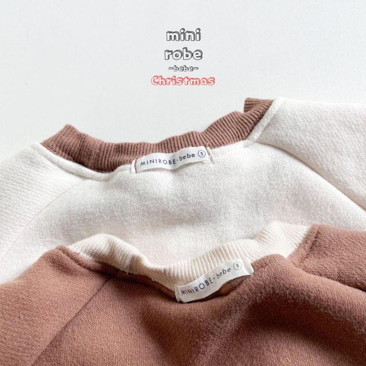 MINI ROBE - Korean Children Fashion - #Kfashion4kids - Rudolph Bodysuit - 9