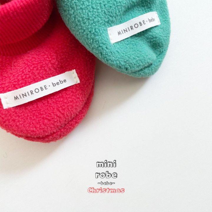 MINI ROBE - Korean Children Fashion - #Kfashion4kids - Santa Bebe Socks Shoes - 11