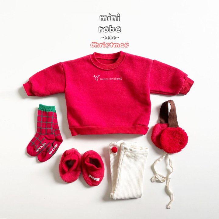 MINI ROBE - Korean Children Fashion - #Kfashion4kids - Santa Bebe Socks Shoes - 12