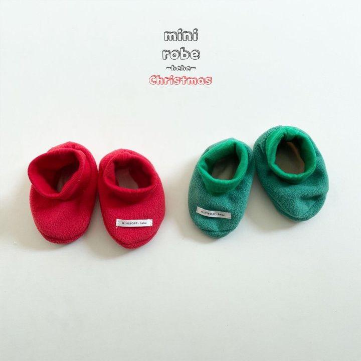 MINI ROBE - Korean Children Fashion - #Kfashion4kids - Santa Bebe Socks Shoes - 2