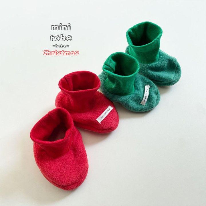 MINI ROBE - Korean Children Fashion - #Kfashion4kids - Santa Bebe Socks Shoes - 3