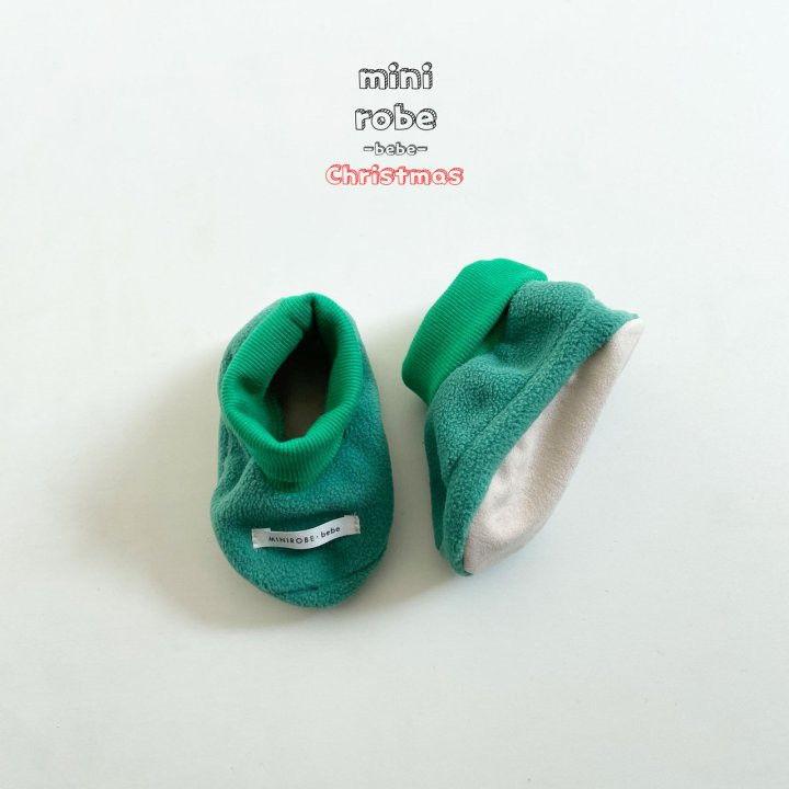 MINI ROBE - Korean Children Fashion - #Kfashion4kids - Santa Bebe Socks Shoes - 4