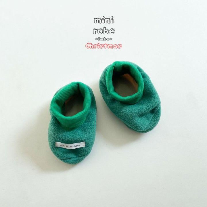 MINI ROBE - Korean Children Fashion - #Kfashion4kids - Santa Bebe Socks Shoes - 5