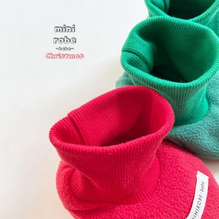 MINI ROBE - Korean Children Fashion - #Kfashion4kids - Santa Bebe Socks Shoes - 6