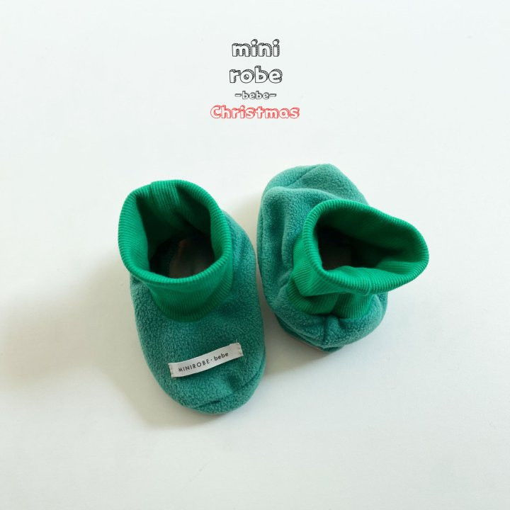 MINI ROBE - Korean Children Fashion - #Kfashion4kids - Santa Bebe Socks Shoes - 7