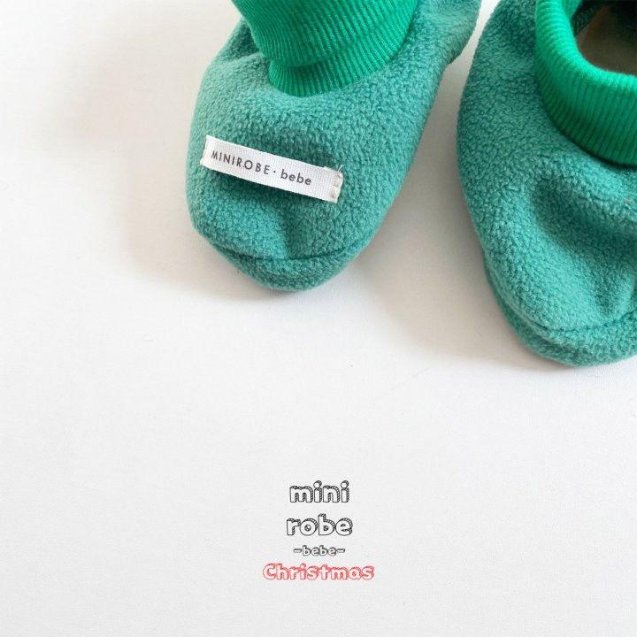 MINI ROBE - Korean Children Fashion - #Kfashion4kids - Santa Bebe Socks Shoes - 8