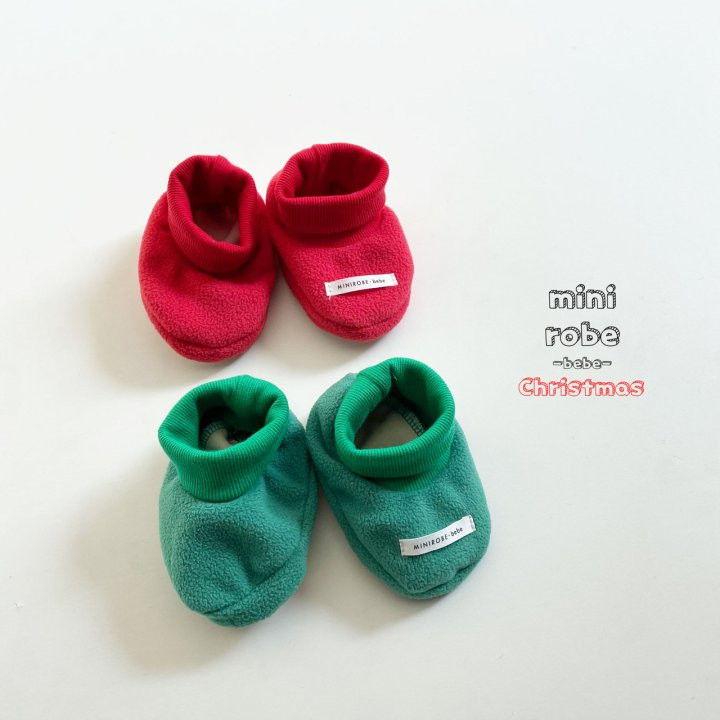 MINI ROBE - Korean Children Fashion - #Kfashion4kids - Santa Bebe Socks Shoes - 9
