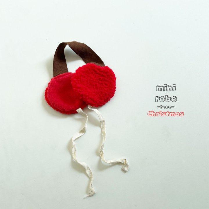 MINI ROBE - Korean Children Fashion - #Kfashion4kids - Santa Earmuffs - 3