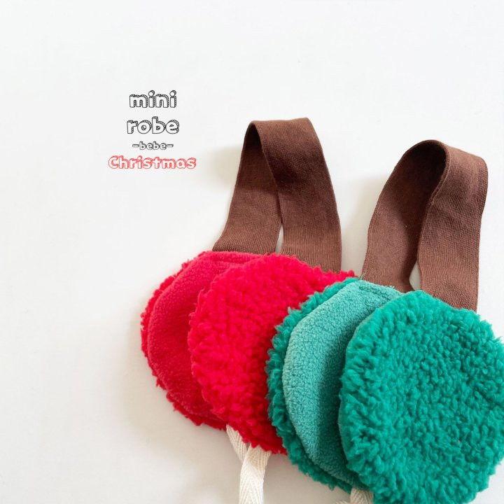 MINI ROBE - Korean Children Fashion - #Kfashion4kids - Santa Earmuffs - 4