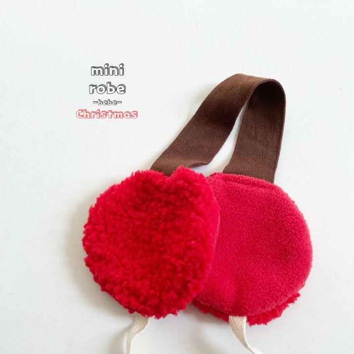 MINI ROBE - Korean Children Fashion - #Kfashion4kids - Santa Earmuffs - 6