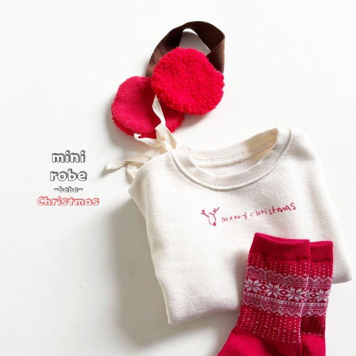 MINI ROBE - Korean Children Fashion - #Kfashion4kids - Santa Earmuffs - 7