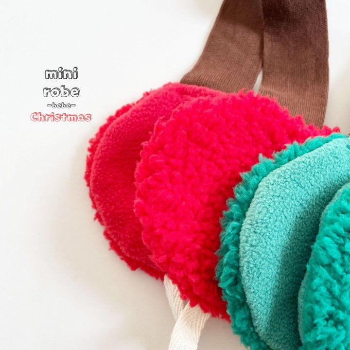 MINI ROBE - BRAND - Korean Children Fashion - #Kfashion4kids - Santa Earmuffs