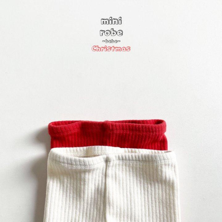 MINI ROBE - Korean Children Fashion - #Kfashion4kids - Pompom Bebe Foot Leggings - 11