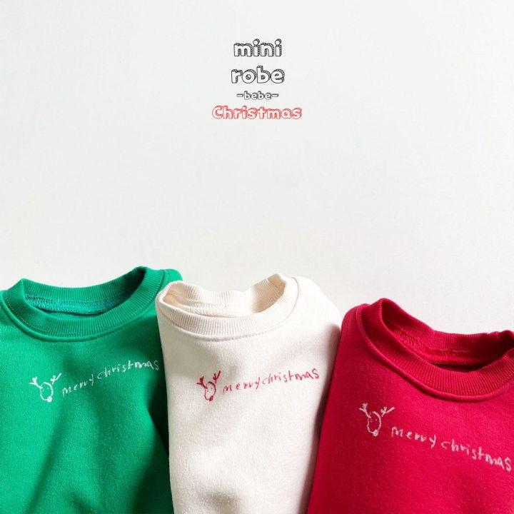MINI ROBE - Korean Children Fashion - #Kfashion4kids - Christmas Bebe Sweatshirt - 11