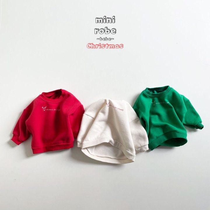 MINI ROBE - Korean Children Fashion - #Kfashion4kids - Christmas Bebe Sweatshirt - 2
