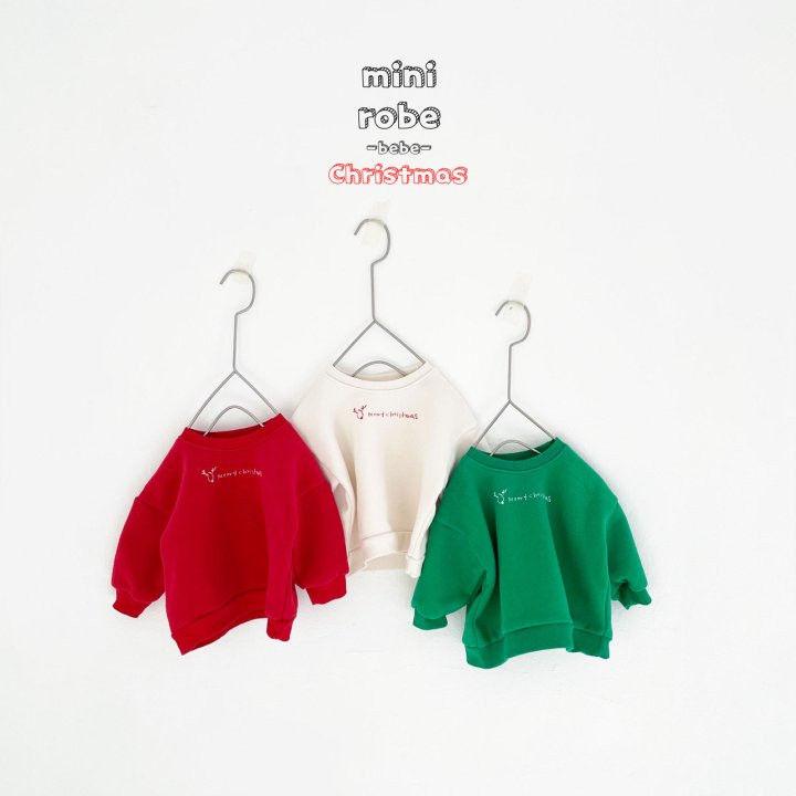 MINI ROBE - Korean Children Fashion - #Kfashion4kids - Christmas Bebe Sweatshirt - 3