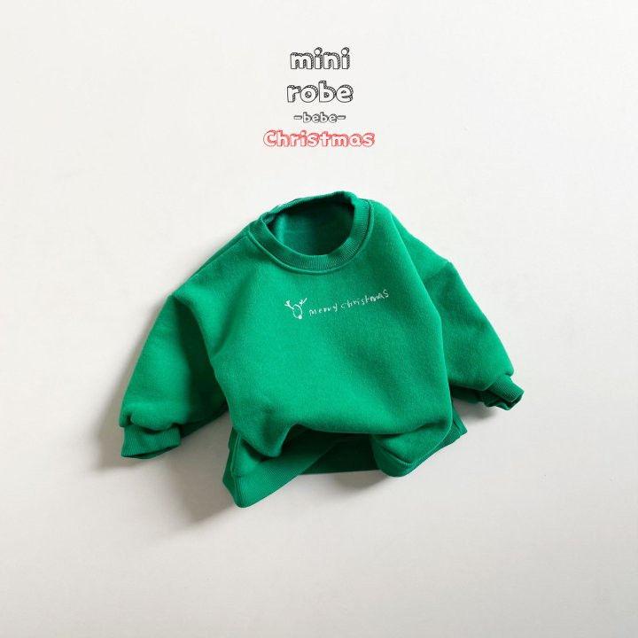 MINI ROBE - Korean Children Fashion - #Kfashion4kids - Christmas Bebe Sweatshirt - 4