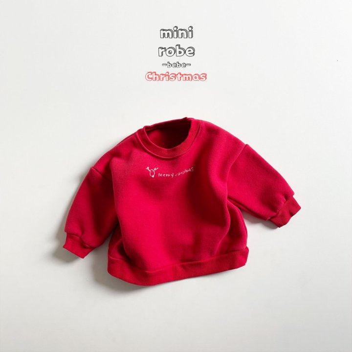 MINI ROBE - Korean Children Fashion - #Kfashion4kids - Christmas Bebe Sweatshirt - 5