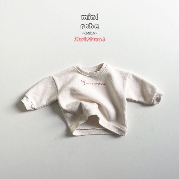 MINI ROBE - Korean Children Fashion - #Kfashion4kids - Christmas Bebe Sweatshirt - 6