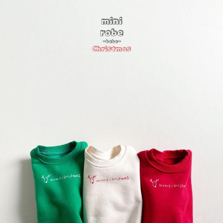 MINI ROBE - Korean Children Fashion - #Kfashion4kids - Christmas Bebe Sweatshirt - 7