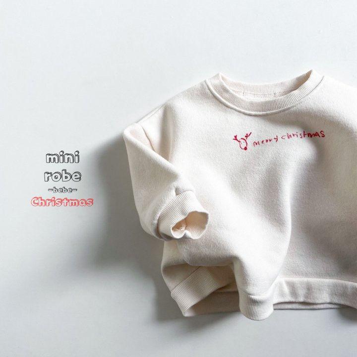 MINI ROBE - Korean Children Fashion - #Kfashion4kids - Christmas Bebe Sweatshirt - 8