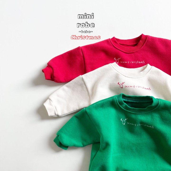 MINI ROBE - Korean Children Fashion - #Kfashion4kids - Christmas Bebe Sweatshirt - 9
