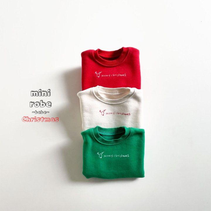 MINI ROBE - BRAND - Korean Children Fashion - #Kfashion4kids - Christmas Bebe Sweatshirt