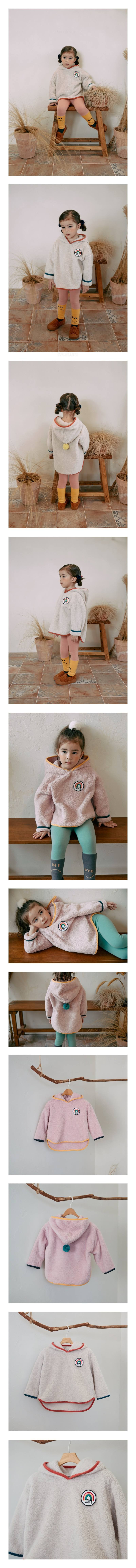 MINIATURE - Korean Children Fashion - #Kfashion4kids - Billy Hood Pullover