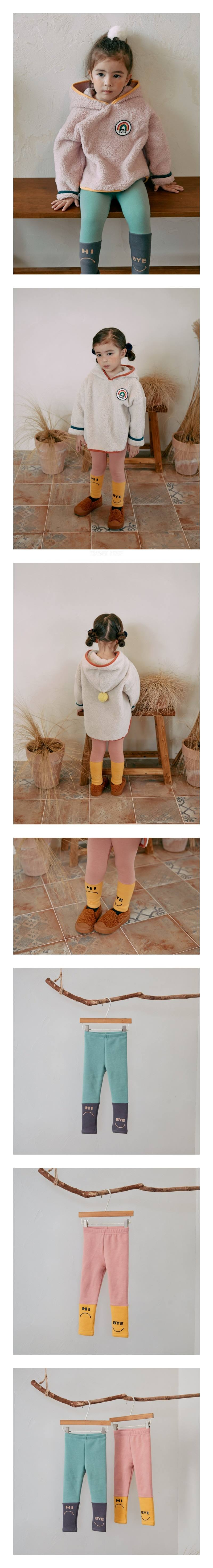MINIATURE - Korean Children Fashion - #Kfashion4kids - Hi Bye Leggings